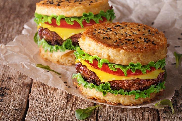 Usaha makanan unik ramen burger