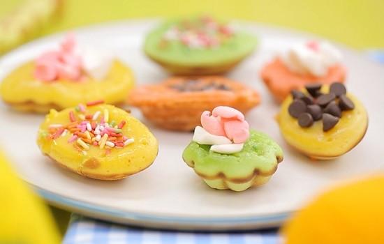 Makanan unik kue cubit modal kecil