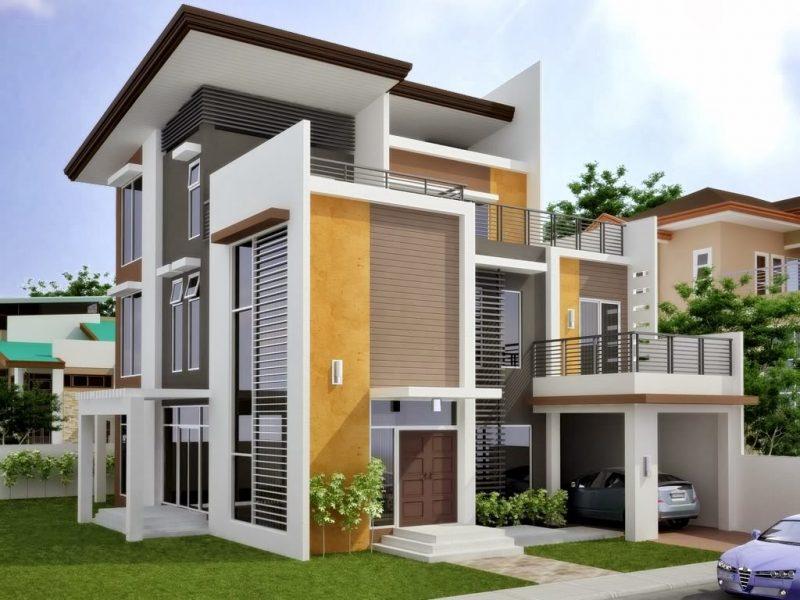 Desain Rumah Minimalist 2 Lantai