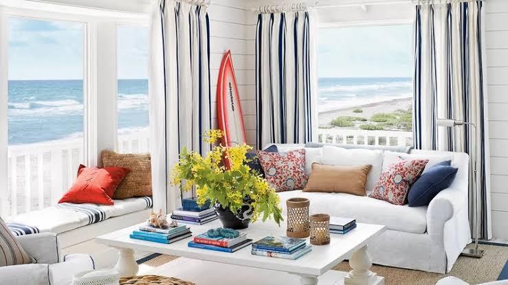 Desain Rumah Coastal Style