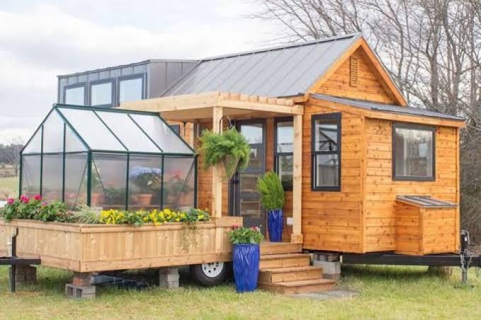Desain Rumah Sederhana ( Hunian Traitrailer )