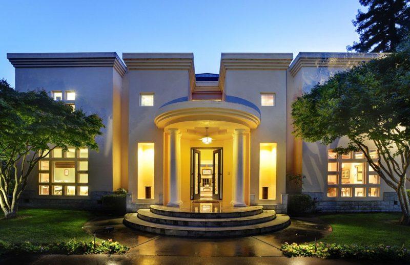 Desain Rumah Klasik Italia