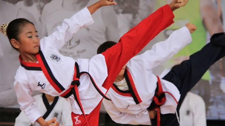 Latiahan Dasar Taekwondo