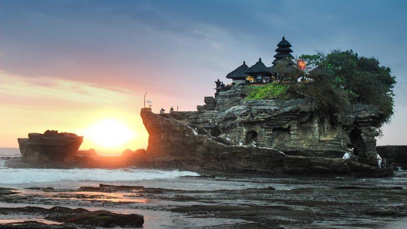 Peta Lokasi Pantai Kuta Bali