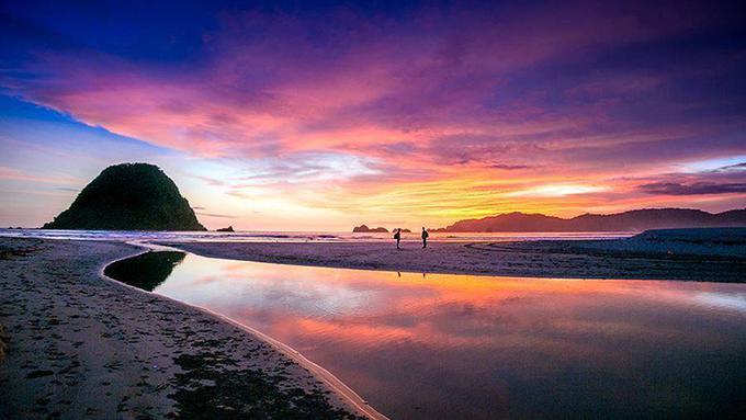 Pemandangan Pantai Pandawa