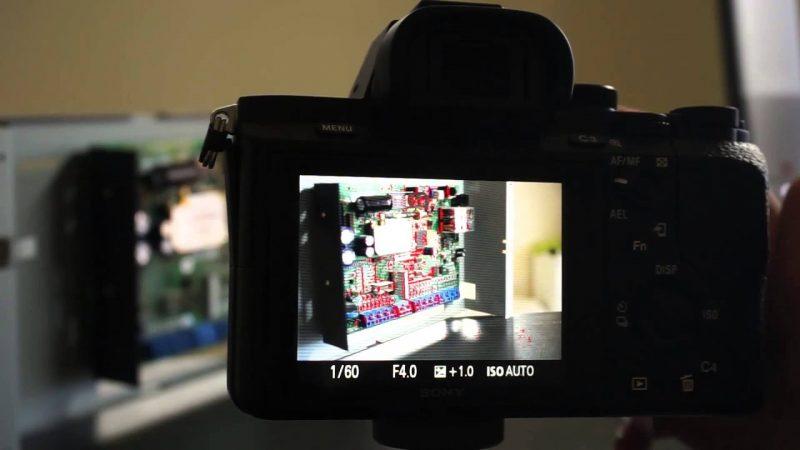 Aktifkan Focus Peaking kamera