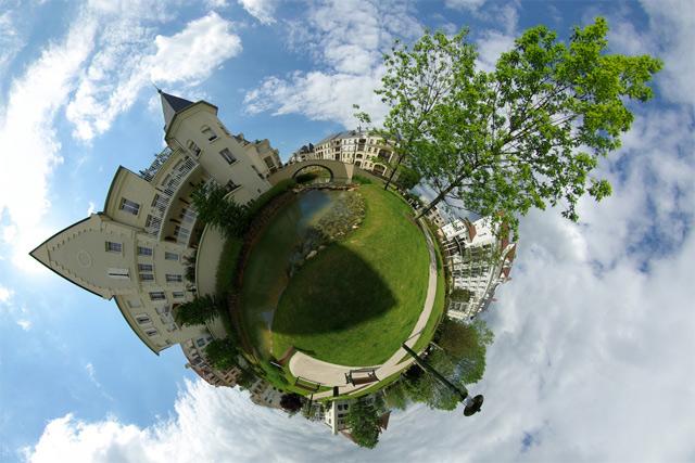 Panorama Melingkar Dengan Efek 3D