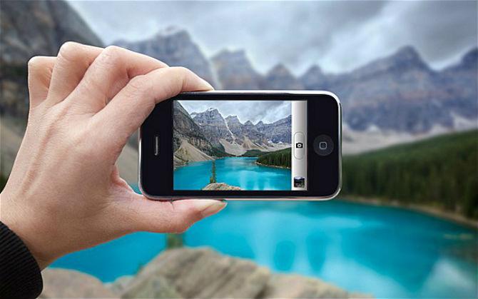 Cara fotografi menggunakan kamera hp
