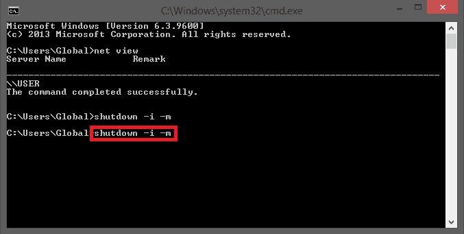 Cara Mematikan Komputer Menggunakan CMD