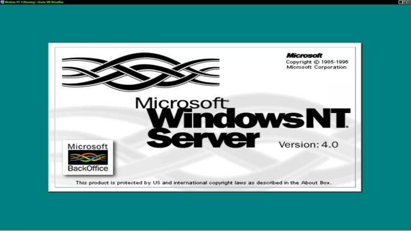 Microsoft Windows NT Server